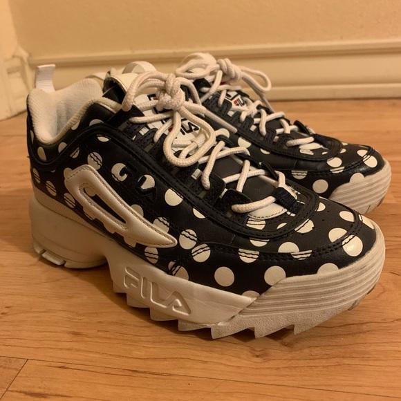 fila polka dot sneakers Sale Fila Shoes
